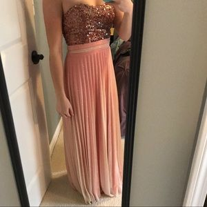 Formal / Prom open back dress
